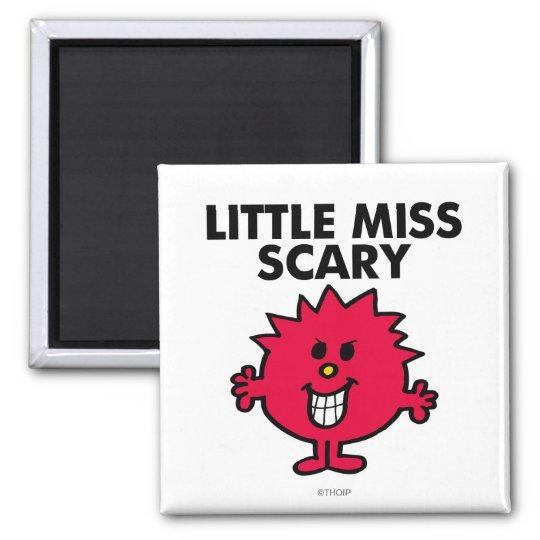 Little Miss Scary | Black Lettering Magnet
