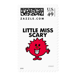 Little Miss Scary   Black Lettering Stamps