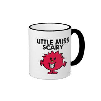 Little Miss Scary | Black Lettering Ringer Mug