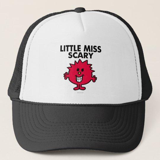 Little Miss Scary | Black Lettering Trucker Hat