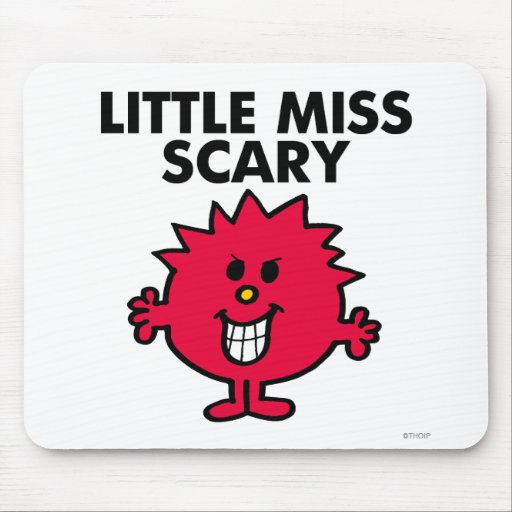 Little Miss Scary Classic Mousepads