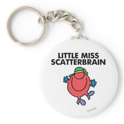 Little Miss Scatterbrain Classic 1 Keychains | Just Sold ...