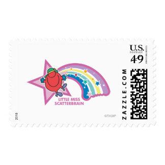 Little Miss Scatterbrain   Rainbow & Stars Stamp