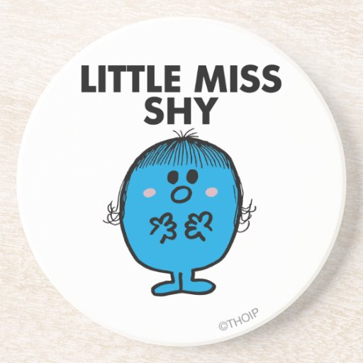 Little Miss Shy Classic Coasters