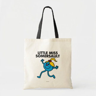 Little Miss Somersault Walking Tall Tote Bag
