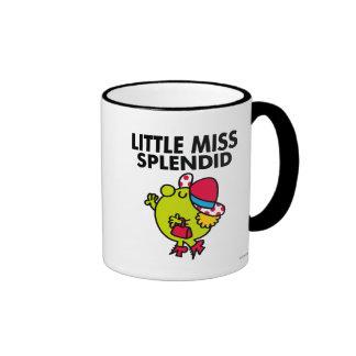 Little Miss Splendid | Black Lettering Ringer Coffee Mug