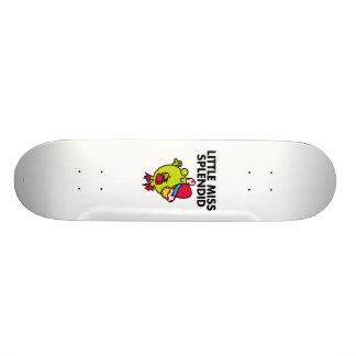 Little Miss Splendid | Black Lettering Skate Decks