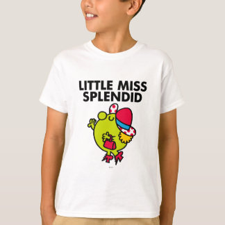 Little Miss Splendid | Black Lettering T-Shirt
