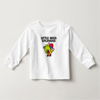 Little Miss Splendid | Black Lettering Toddler T-shirt