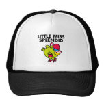 Little Miss Splendid | Black Lettering Trucker Hat