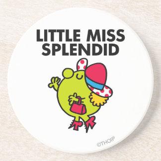 Little Miss Splendid Classic Drink Coaster