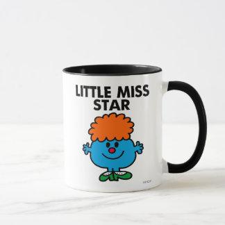 Little Miss Star   Black Lettering Mug