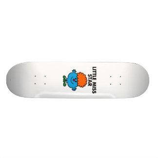 Little Miss Star | Black Lettering Skateboard Decks