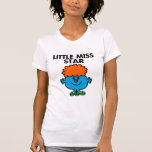Little Miss Star   Black Lettering Tshirts