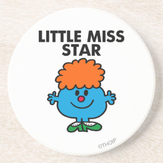 Little Miss Star Classic Drink Coasters