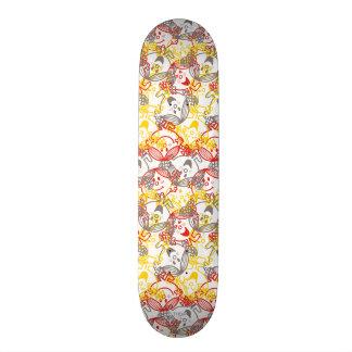 Little Miss Sunshine | All Smiles Pattern Skateboard Deck