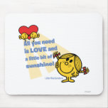 Little Miss Sunshine   All You Need Is… Mouse Pad