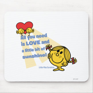 Little Miss Sunshine | All You Need Is… Mouse Pad