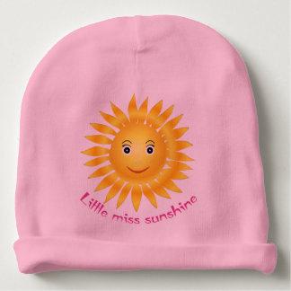 Little miss sunshine baby beanie