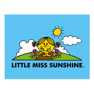 Little Miss Sunshine | Back To Nature Postcard