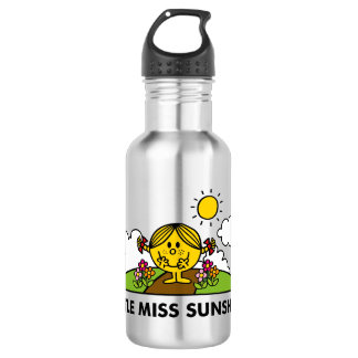 Little Miss Sunshine | Back To Nature Stainless Steel Water Bottle