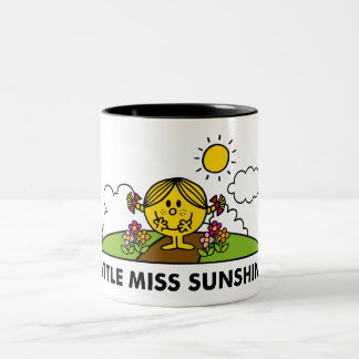 Little Miss Sunshine | Back To Nature Two-Tone Coffee Mug