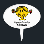"Little Miss Sunshine | Birthday Cake Topper<br><div class=""desc"">This cake topper is the perfect addition to your child&#39;s Little Miss Sunshine Birthday.  Personalize by adding your child&#39;s name.</div>"
