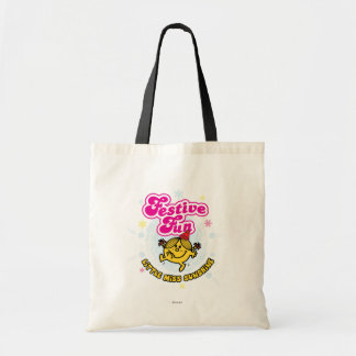 Little Miss Sunshine Festive Fun Budget Tote Bag