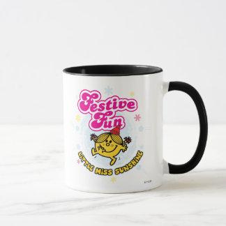 Little Miss Sunshine Festive Fun Mug