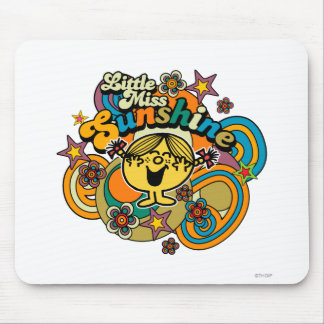 Little Miss Sunshine   Floral Delight Mouse Pad