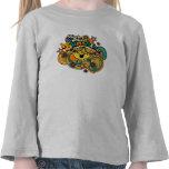 Little Miss Sunshine Floral Swirls T Shirt