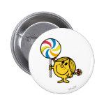 Little Miss Sunshine | Giant Lollipop 2 Inch Round Button
