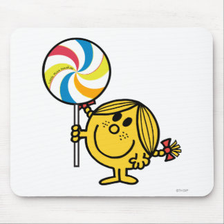 Little Miss Sunshine   Giant Lollipop Mouse Pad