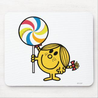 Little Miss Sunshine | Giant Lollipop Mouse Pad