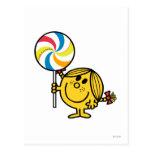Little Miss Sunshine | Giant Lollipop Postcard