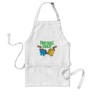 Little Miss Sunshine & Giggles Football Crazy Adult Apron