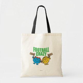 Little Miss Sunshine & Giggles Football Crazy Tote Bag