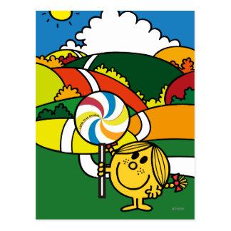 Little Miss Sunshine | Hills & Lollypop Postcard