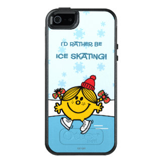 Little Miss Sunshine Ice Skating 4 OtterBox iPhone 5/5s/SE Case