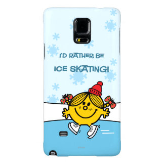 Little Miss Sunshine Ice Skating Galaxy Note 4 Case