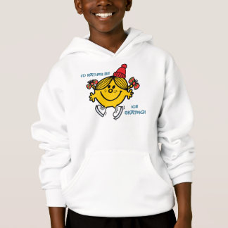 Little Miss Sunshine Ice Skating Hoodie