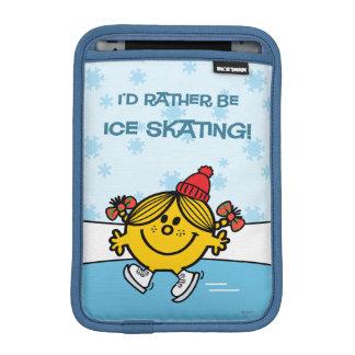Little Miss Sunshine Ice Skating iPad Mini Sleeve