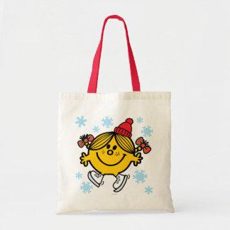 Little Miss Sunshine Ice Skating Tote Bag