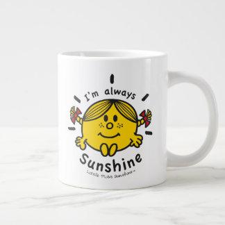 Little Miss Sunshine | I'm Always Sunshine Giant Coffee Mug