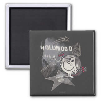Little Miss Sunshine In Hollywood 2 Inch Square Magnet
