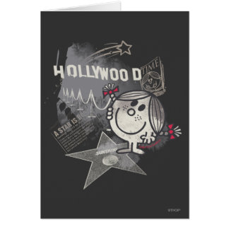 Little Miss Sunshine In Hollywood Greeting Card