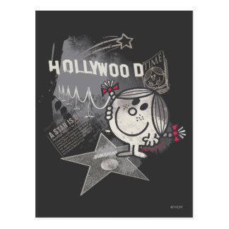 Little Miss Sunshine In Hollywood Postcard