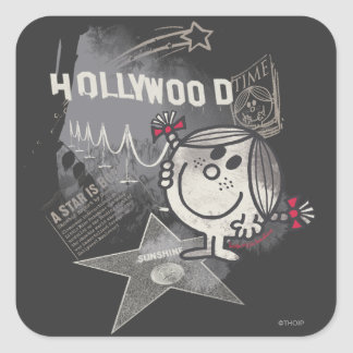 Little Miss Sunshine In Hollywood Square Sticker