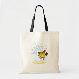 Little Miss Sunshine | Joy To The World Budget Tote Bag