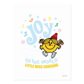 Little Miss Sunshine | Joy To The World Postcard